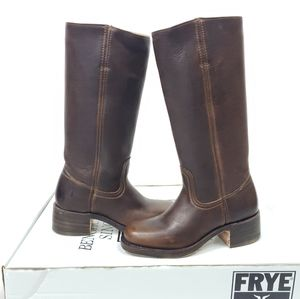 NWT FRYE Campus 14L Leather Cowboy Riding Boot